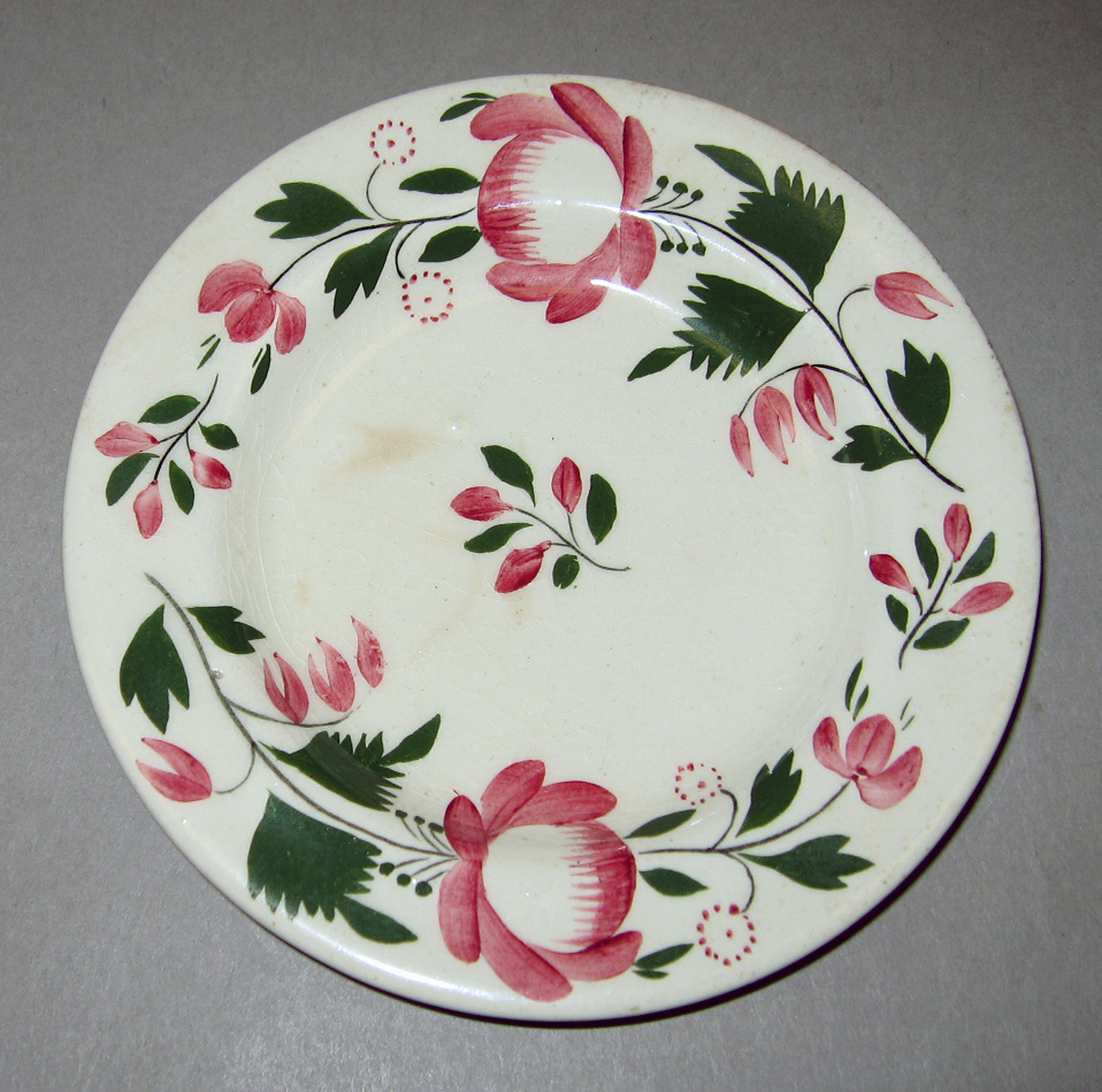 1954.0003.009 Pearlware plate