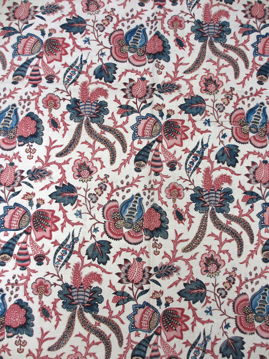 T295 textile, printed design repeat