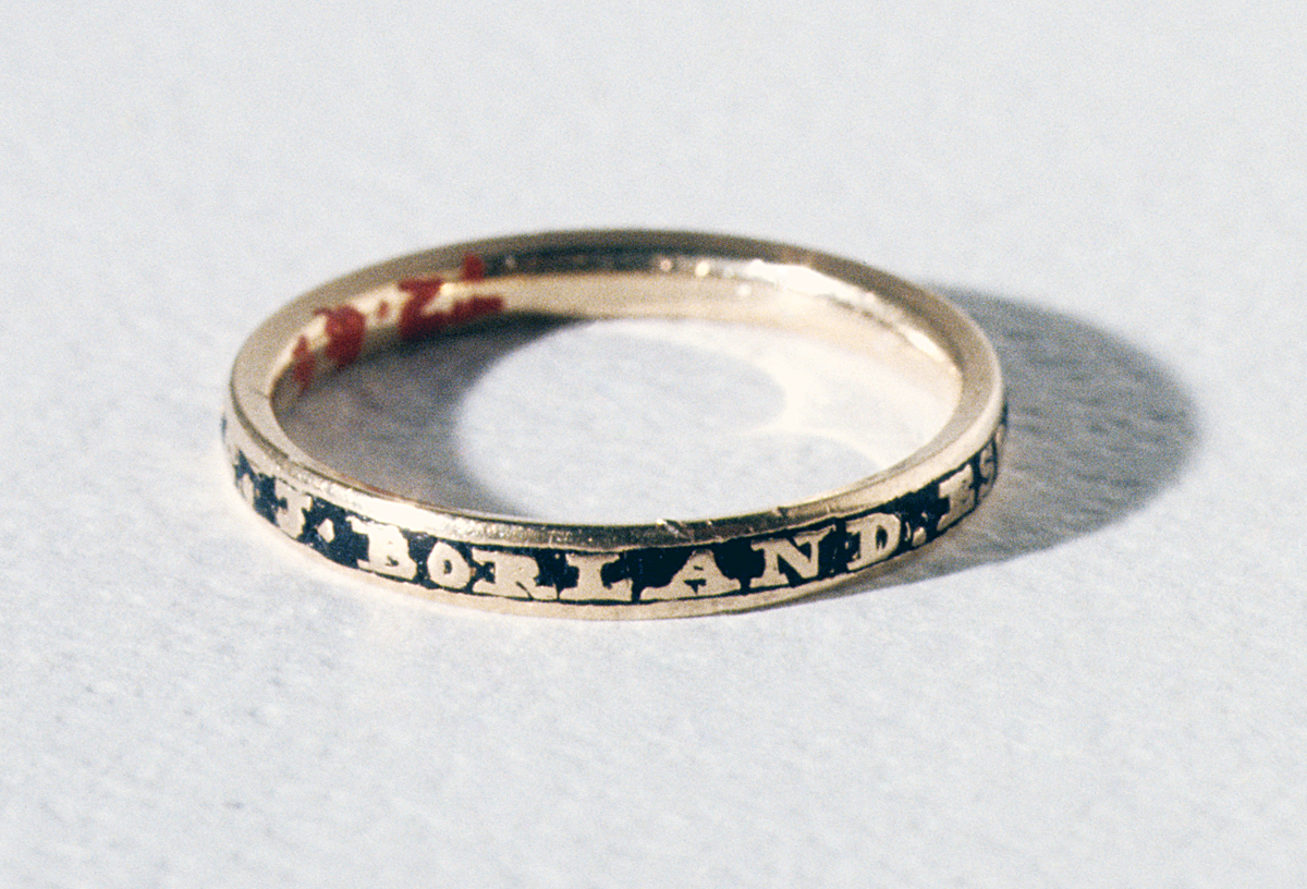 1972.0066 Mourning Ring