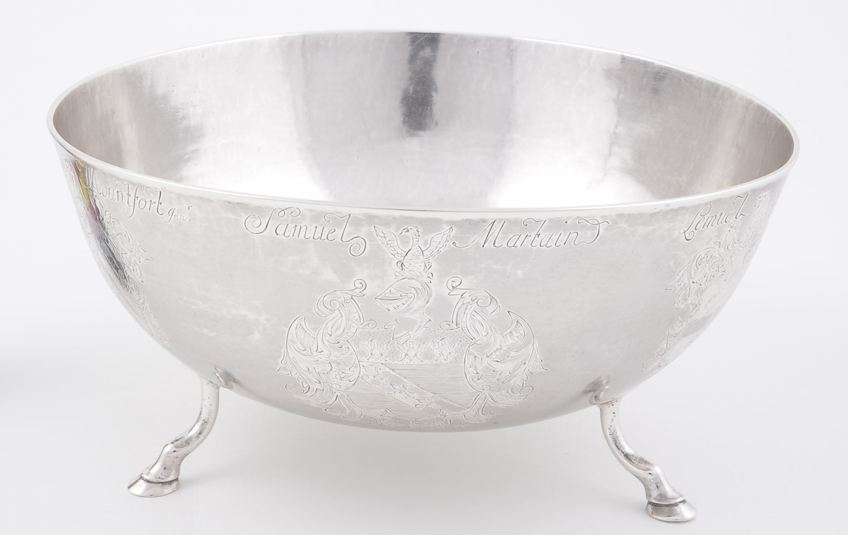 2004.0052 Silver Punch Bowl