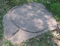 Lye barrel stone