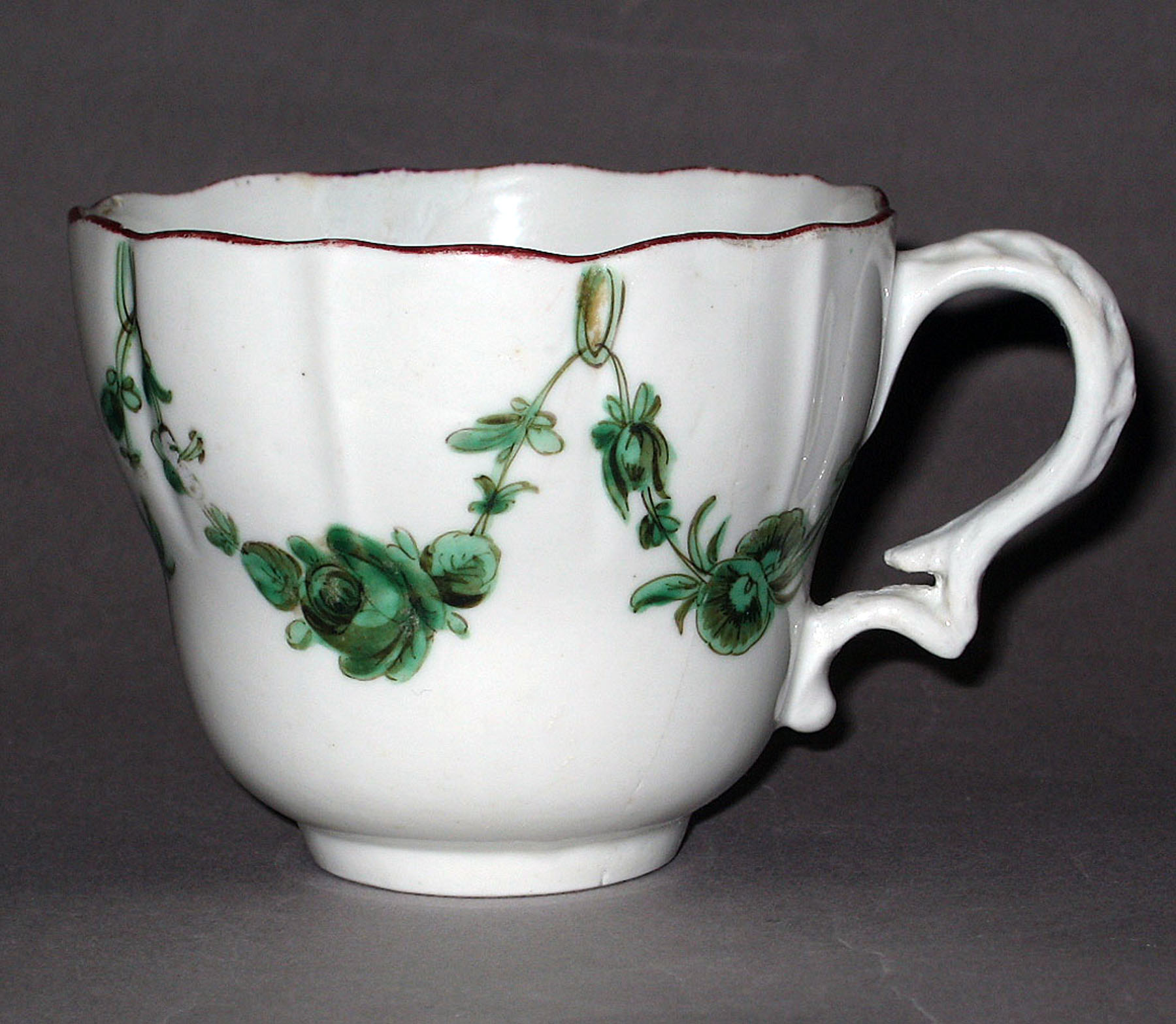 1953.0159.001 Bristol hard-paste porcelain coffee cup