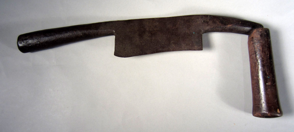 1957.0026.114 Drawknife, View 1