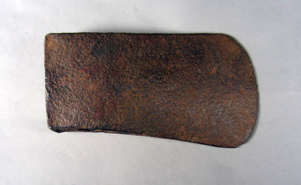 1957.0026.690 Broadaxe head, View 2