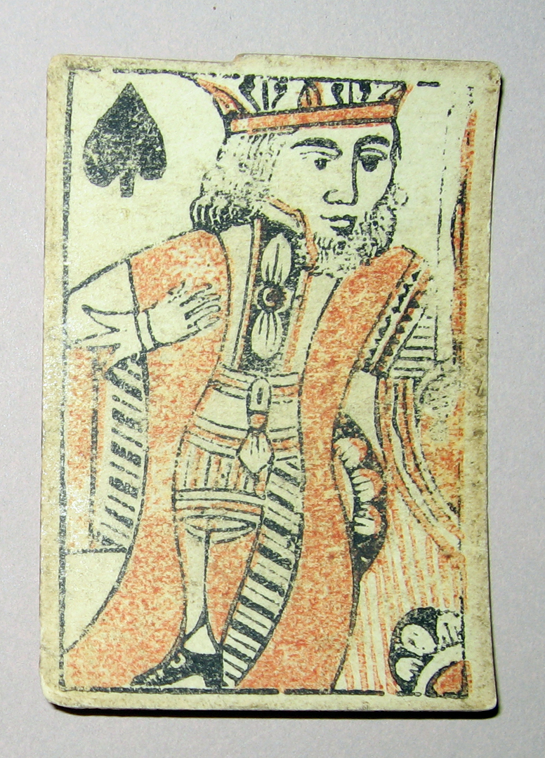 1954.0071.007 ZZ Playing card