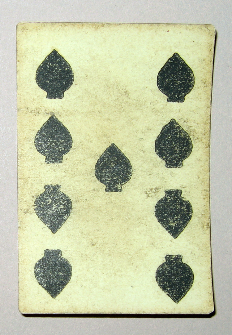 1954.0071.007 VV Playing card