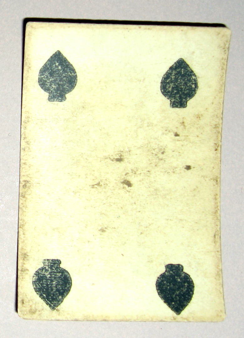 1954.0071.007 QQ Playing card
