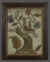 Needlework picture -...