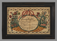 Fraktur - Birth cert...
