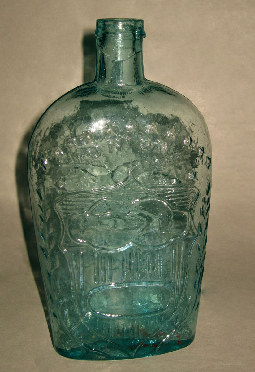 1970.0375.001 Glass flask