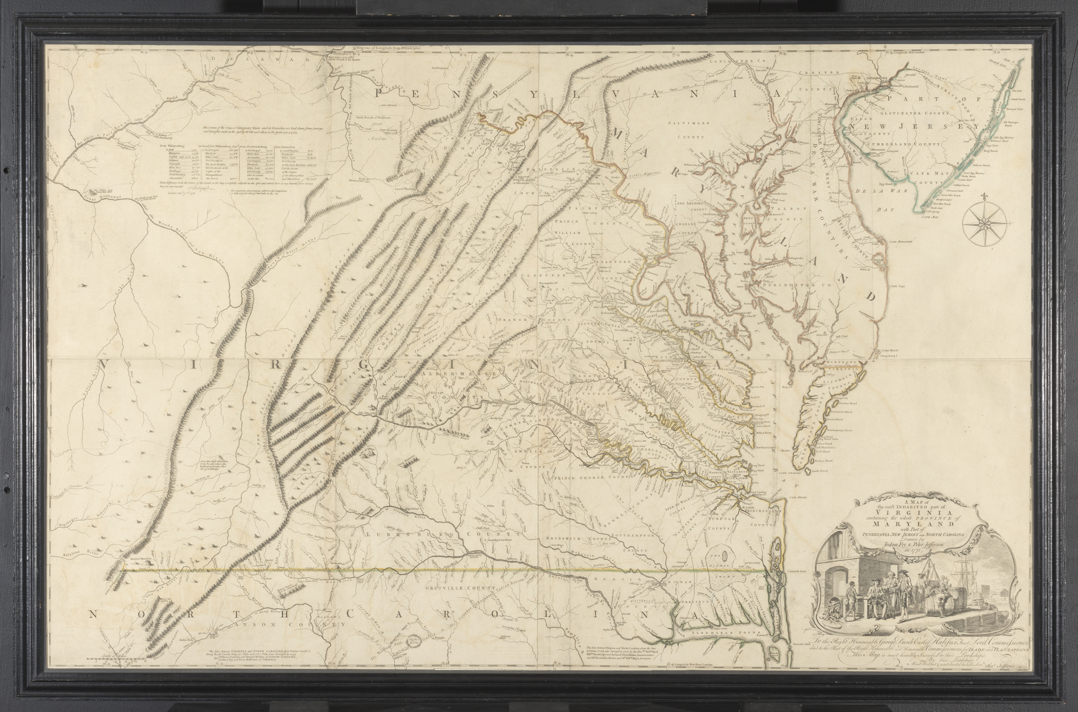 1963.0118 A Map, B Frame, view 1