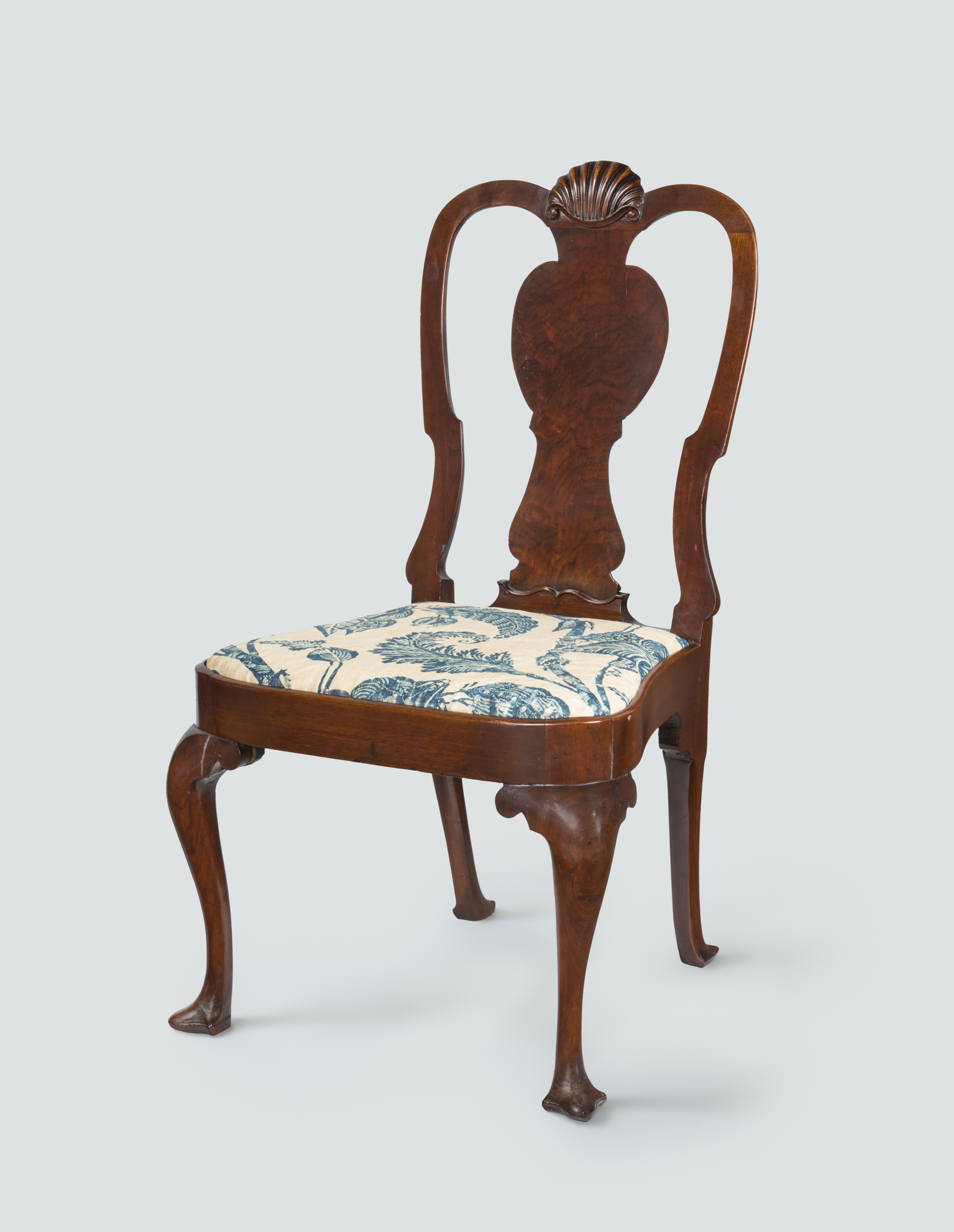 1952.0140 Chair, 1969.5461 Slip seat, view 1