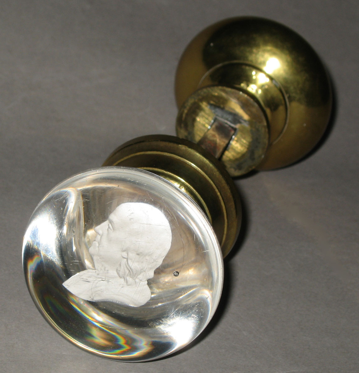 Glass - Door knob