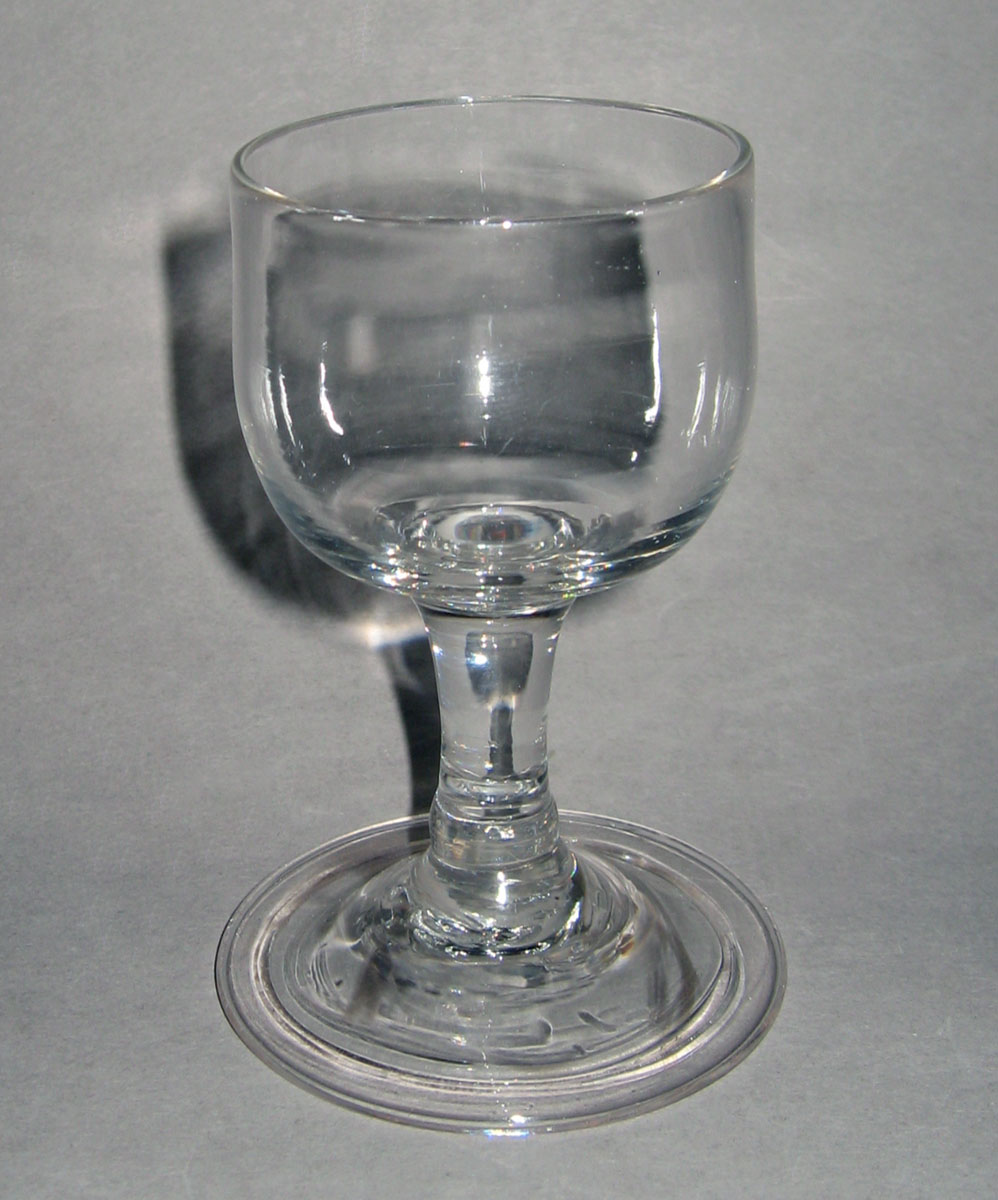 1957.0018.019 Glass wineglass