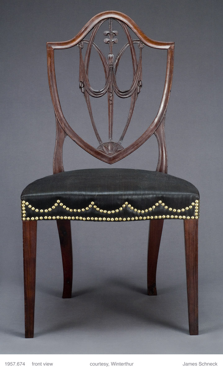 1957.0674 Chair, side chair