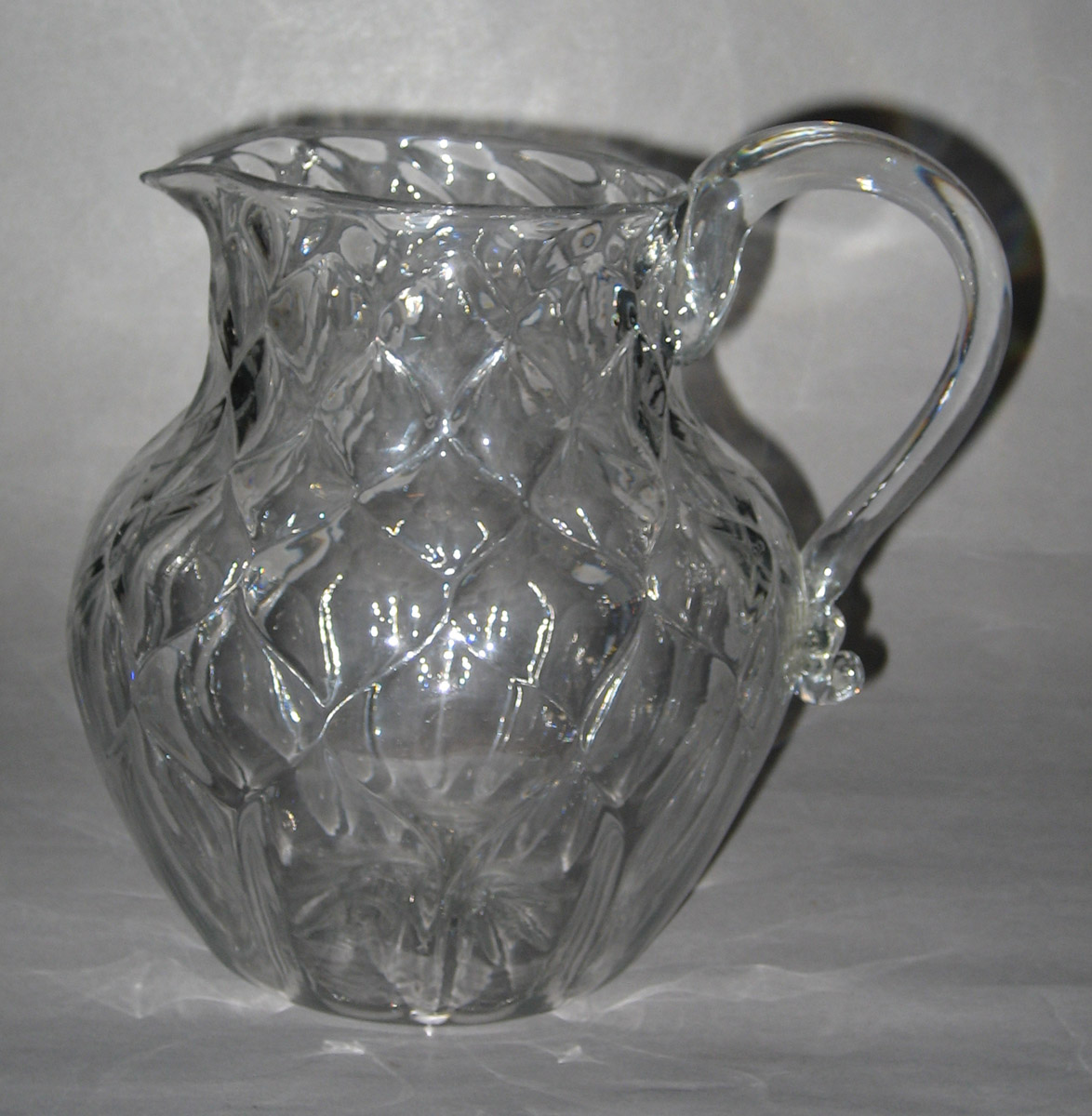 1957.0018.021 Glass Jug or Pitcher