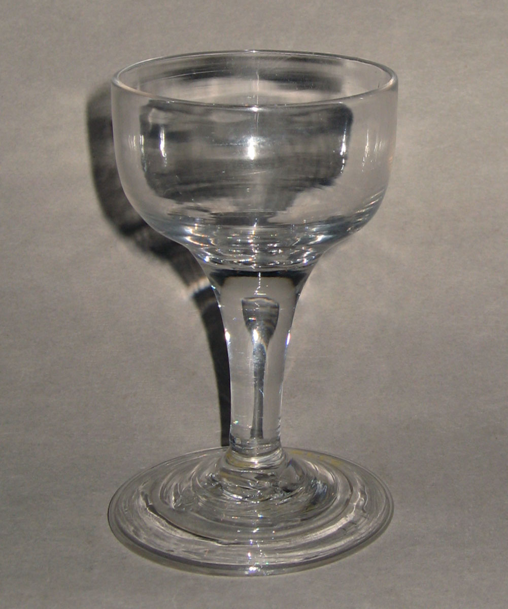 1957.0018.015 Glass wineglass
