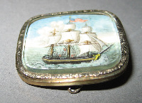 Brooch - Miniature p...
