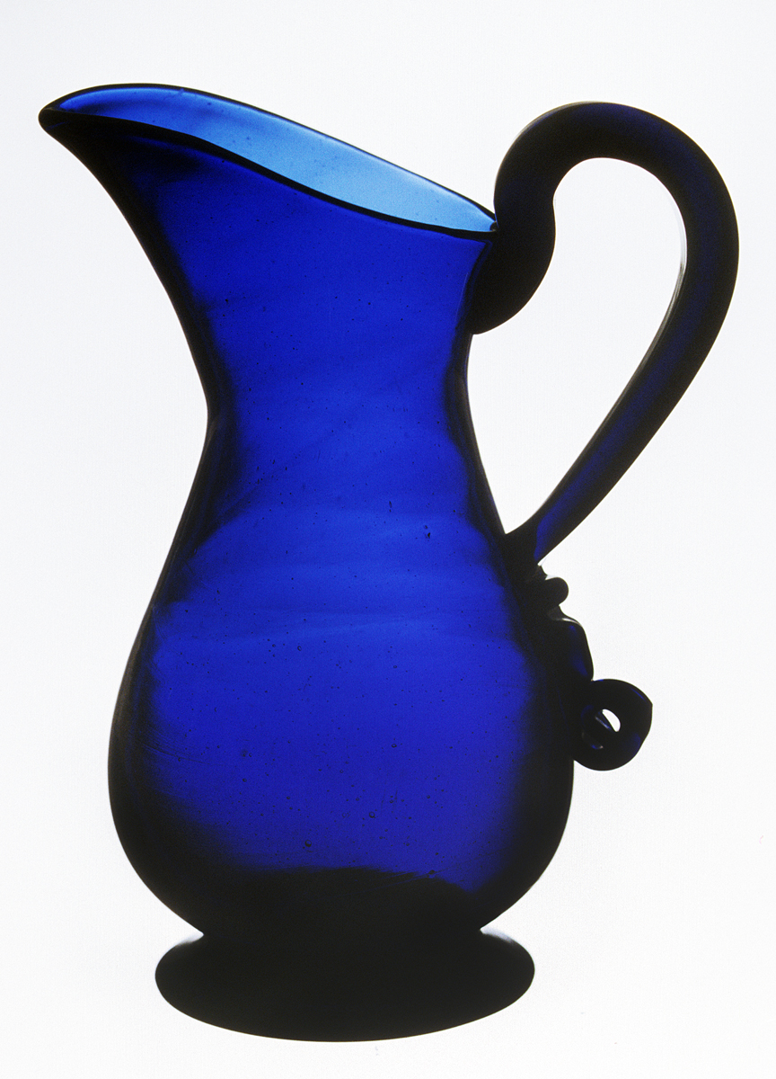 1973.0472 Glass cream jug