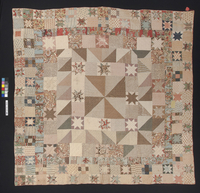 Quilt - Pieced medal...