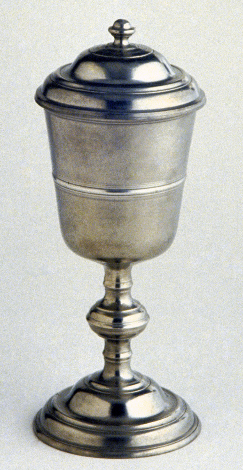 1953.0097 Chalice, Chalice with lid
