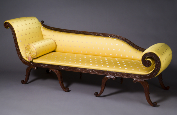 1957.0912 Couch, Grecian couch