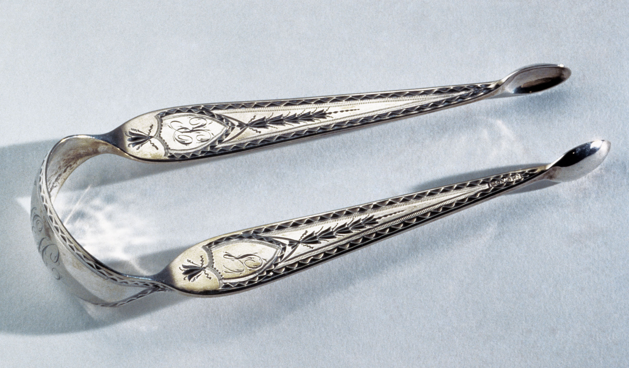 1979.0213 Sugar Tongs, view 1