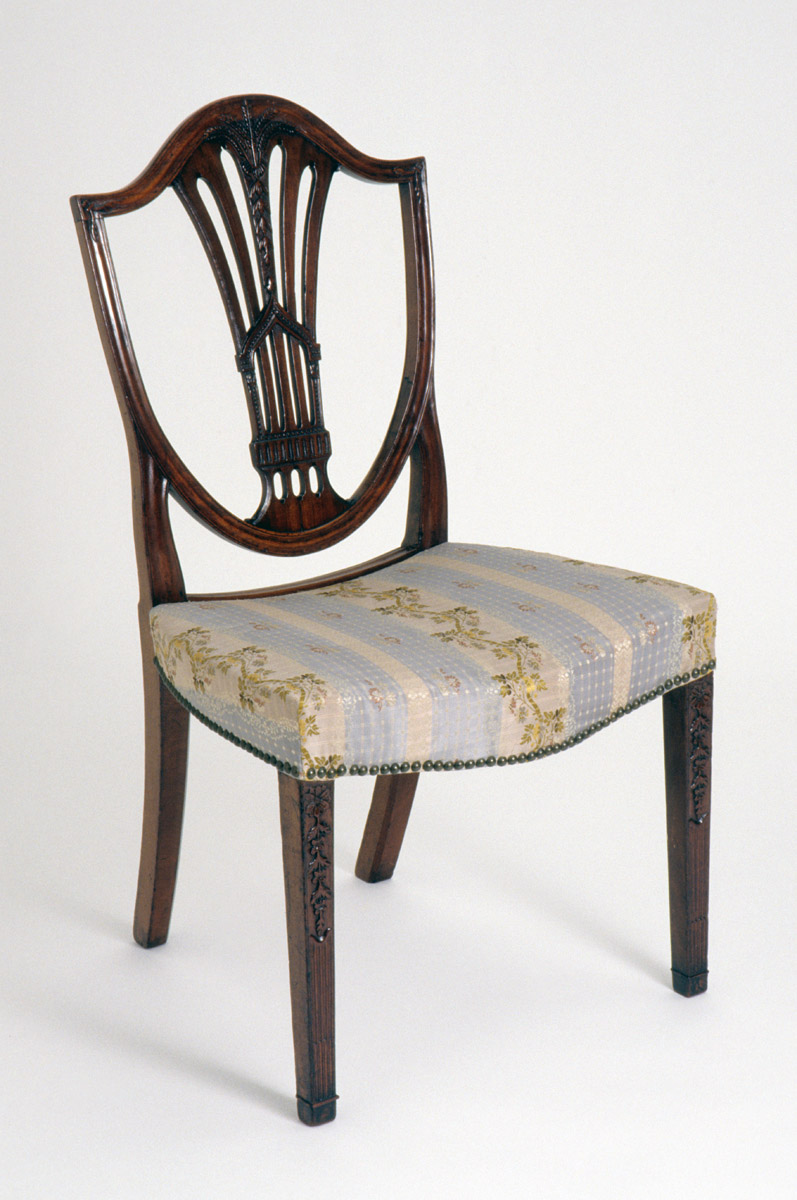 1952.0245 Chair, side chair