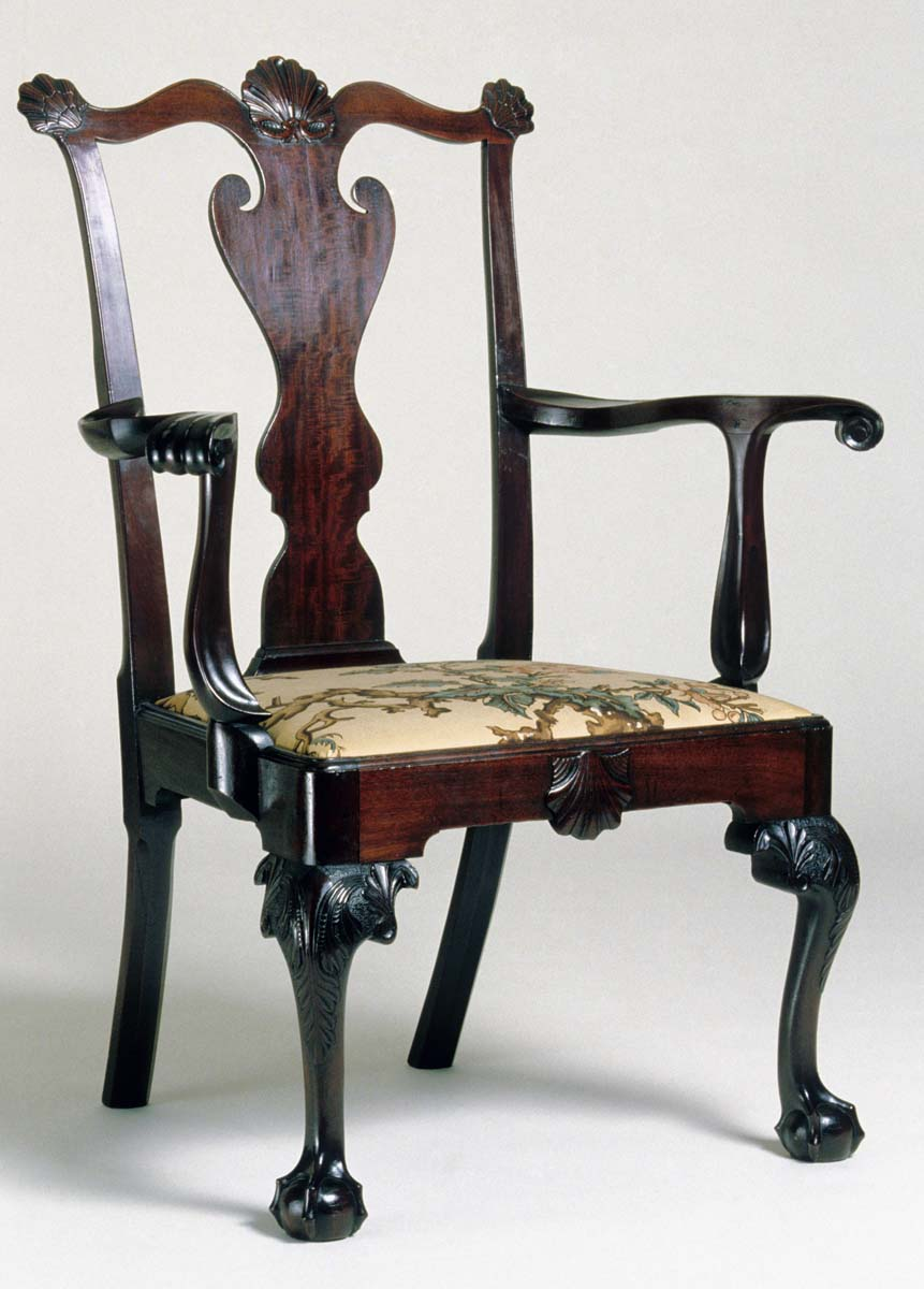 1957.0503 Chair, Armchair, view 1