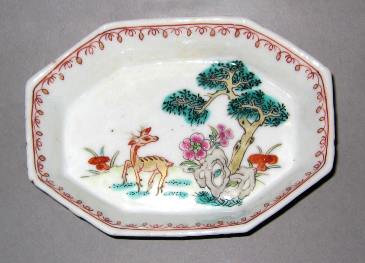 1953.0156.008 Porcelain spoon tray
