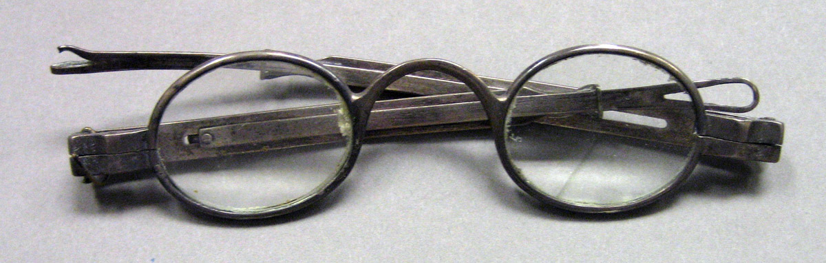 1962.0240.1688 Silver Spectacles view 1