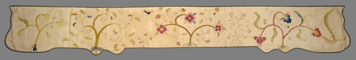 1952.0358.007 Bed Hanging, Valance